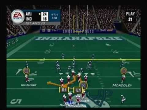 Madden NFL 2004 (Playstation 2) - Cardinals vs. Colts