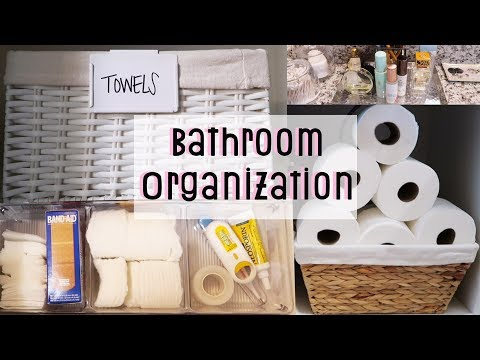 BATHROOM ORGANIZATION   THE CONTAINER STORE