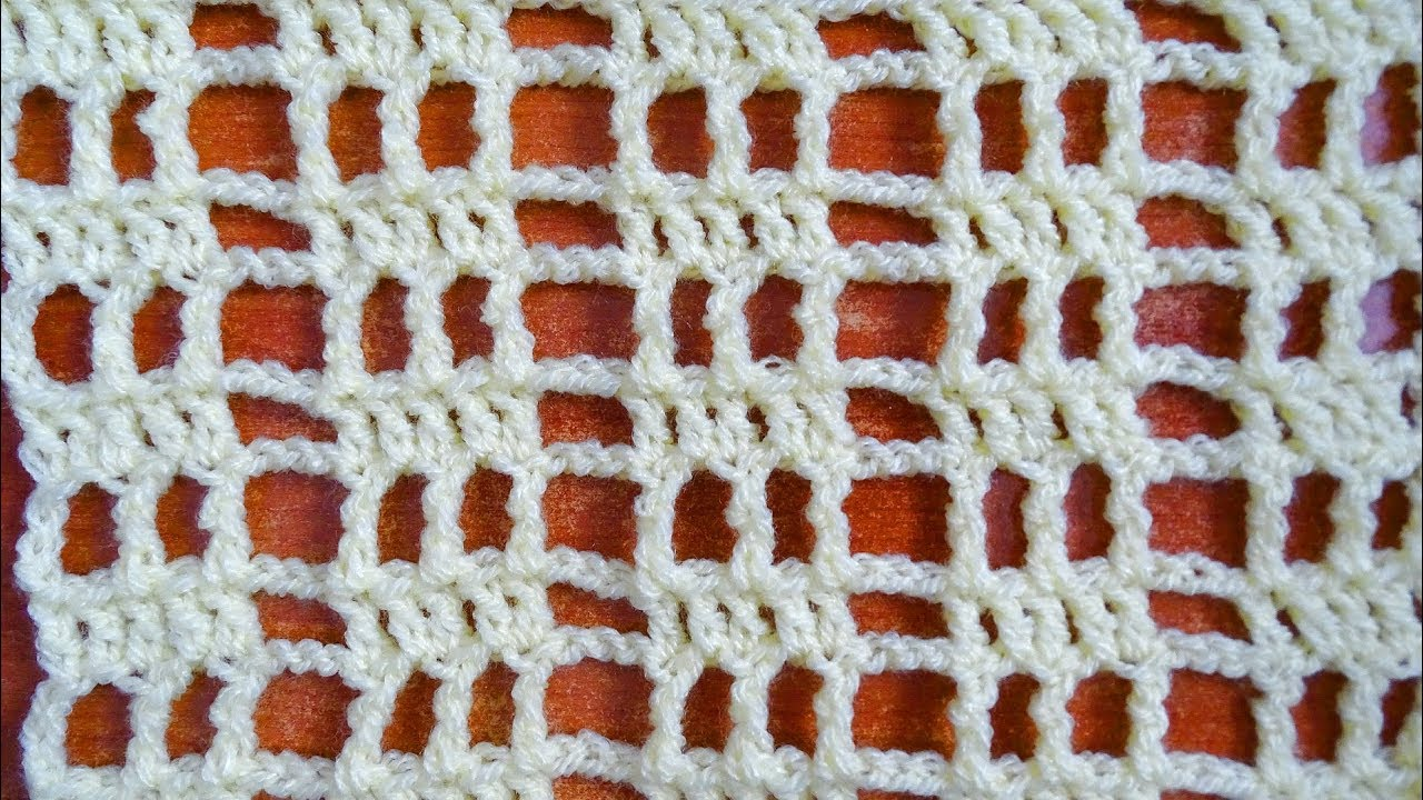 Capitol Crochet Stitch Right Handed Tutorial Filet Diagram Patterns Easy Ideas