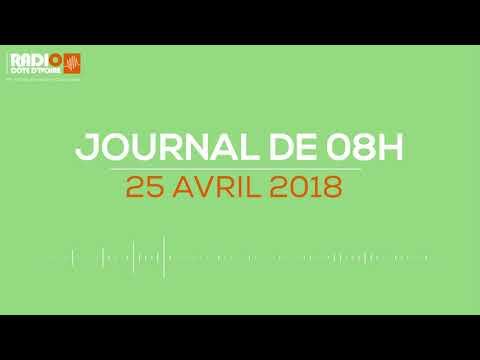 Le journal de 06H00 du 25 avril 2018-Radio Côte d'Ivoire