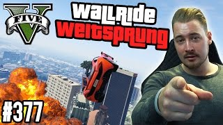 WALLRIDE + WEITSPRUNG - EPISCHES DUELL! (+DOWNLOAD) | GTA V - CUSTOM MAP RENNEN