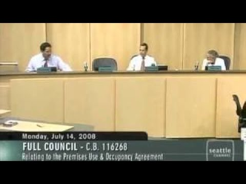 Seattle City Council sells out the SuperSonics 14, 2008