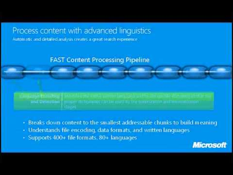 Adding *Your* Busines Value W/ FAST Search for SharePoint Pipeline Extensibility - Steve Kuenzli