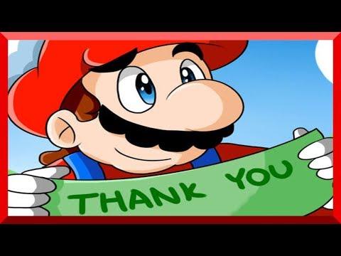 "Super Mario - Comic Dub: ""Thank You"""