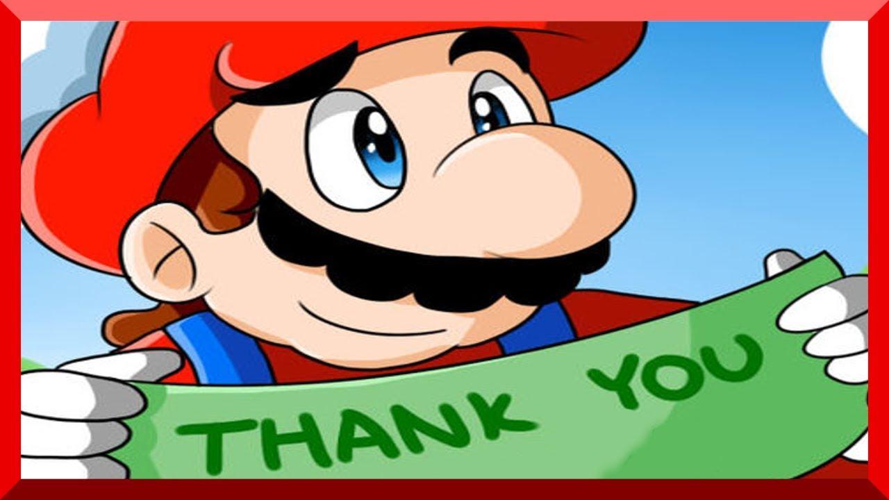 Super Mario Comic Dub Thank You Youtube