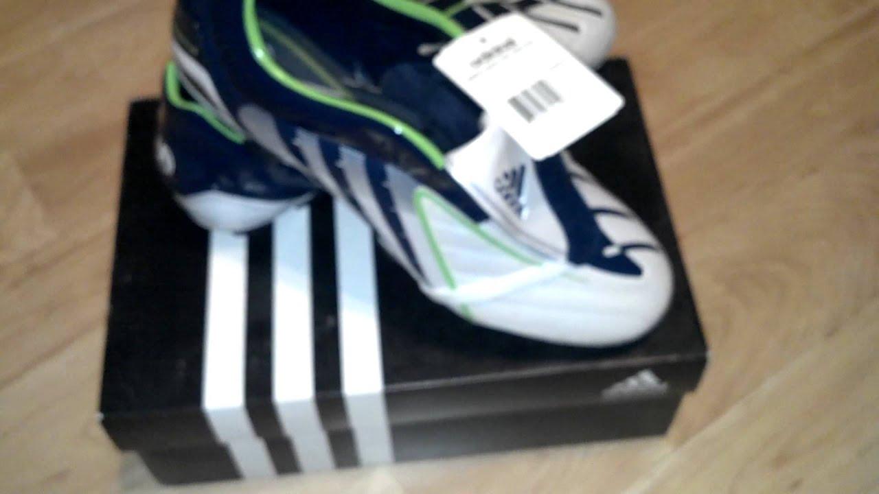 calcio 22: adidas predator absolado ps trx fg (bianco / verde / blu