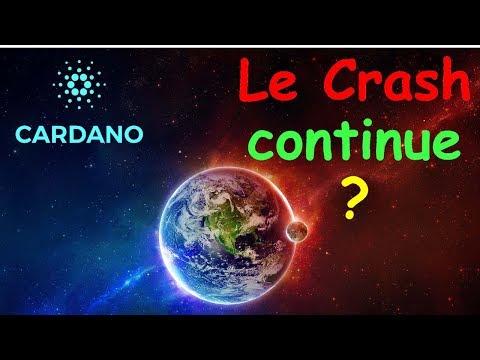 ADA LE CRASH EST ENCORE LONG !? Cardano Analyse Technique Crypto Monnaie Bitcoin