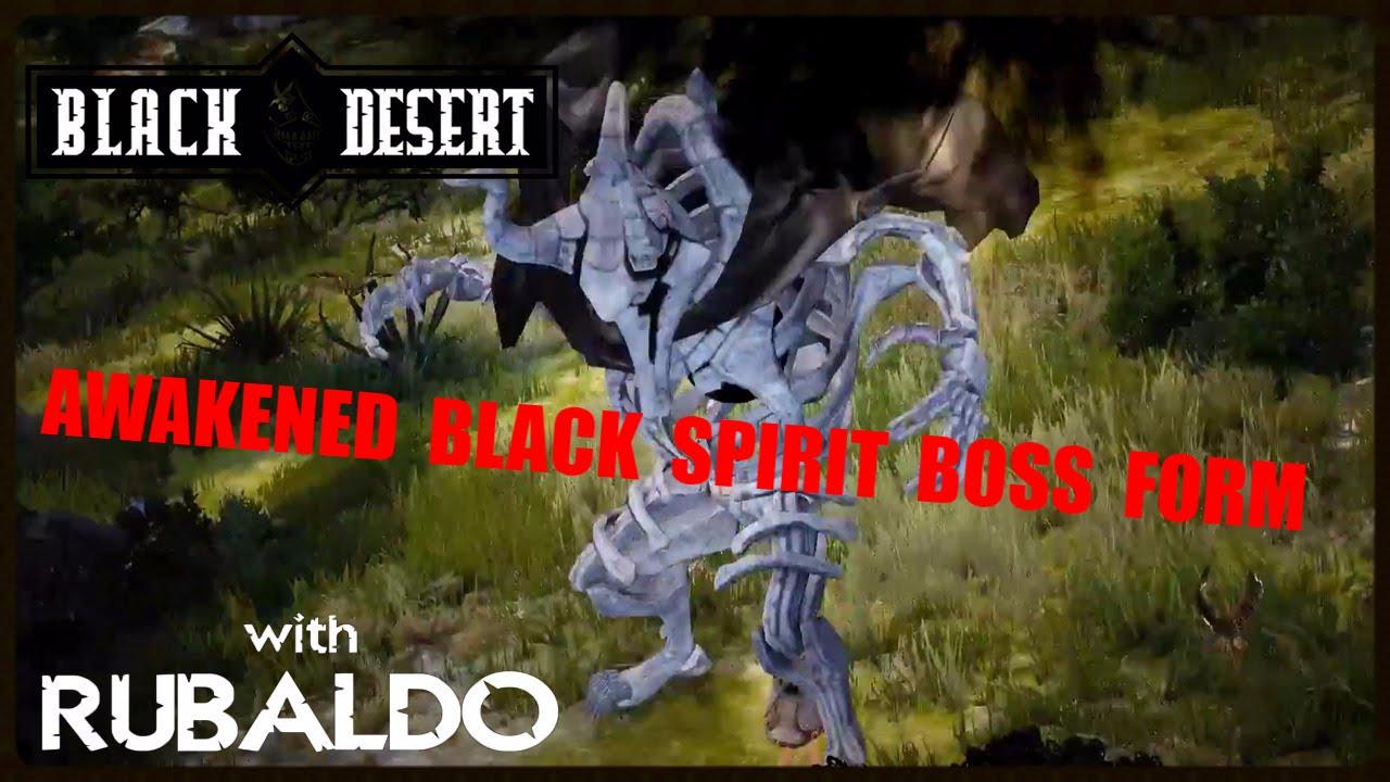 Black Desert Online: Awakened Black Spirit form - Black Spirit ...