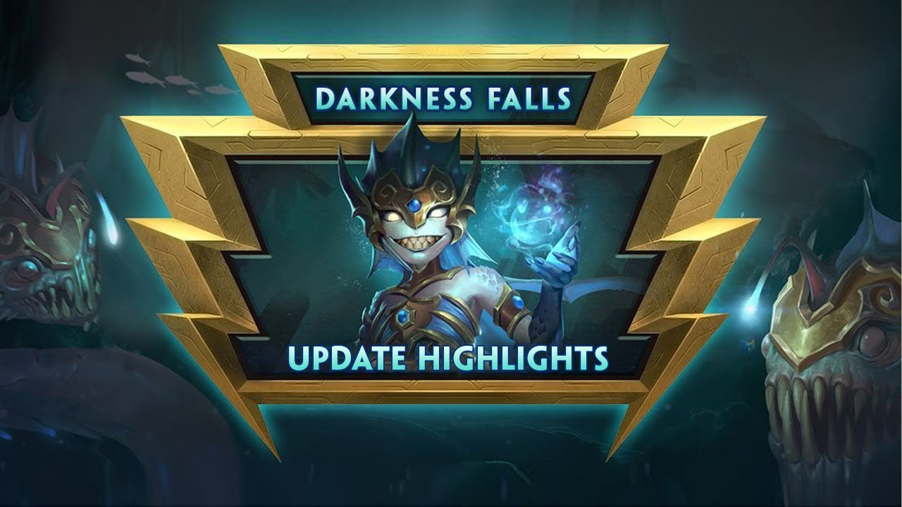 SMITE Darkness Falls Update Live Now