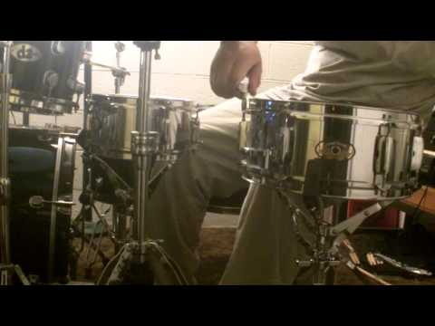 Pearl Firecracker 10x5 and 12x5 Steel Shell Snare Drum Sound Test Review