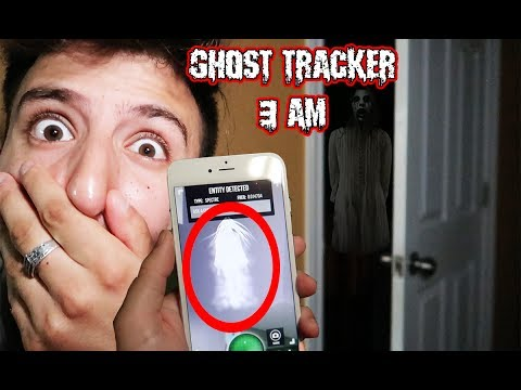 (WE FOUND GHOSTS!) DONT USE GUAVA JUICE GHOST TRACKER APP AT 3 AM   WE FOUND GHOSTS IN OUR HOUSE!