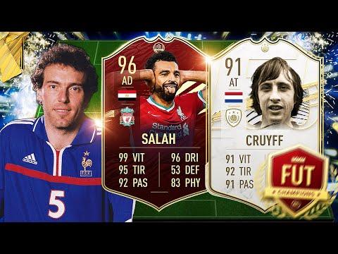 LE RÉSUMÉ FUT CHAMPIONS BUNDESLIGA TOTS AVEC CRUYFF & SALAH ! FIFA 21 Ultimate Team avec 0€ #143