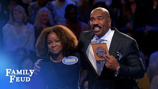 Crawfords headin' for cashville!   Family Feud
