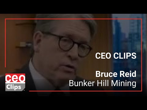 Bruce Reid | Bunker Hill Mining | Large Lead-Zinc-Silver Resource At Historical Mine