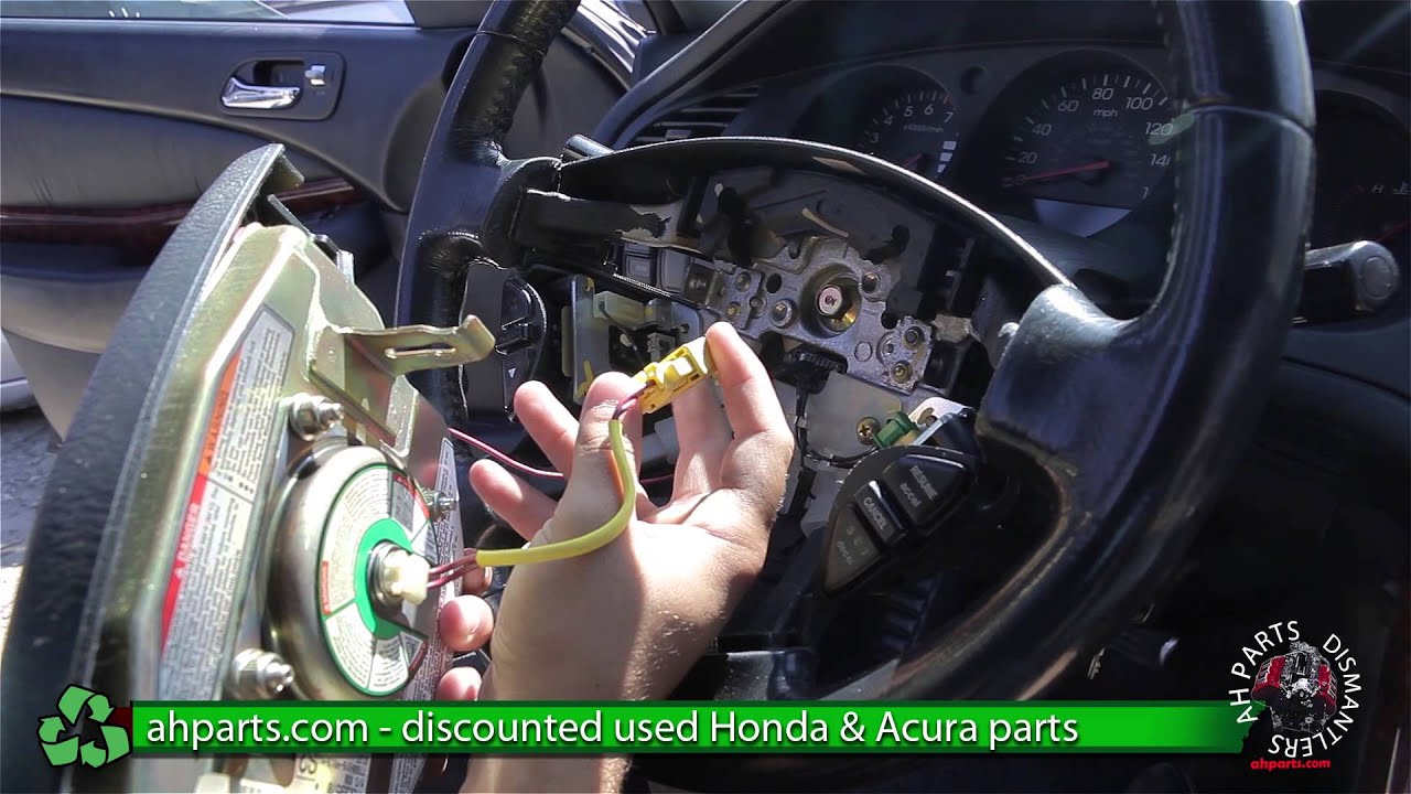 How To Replace Change An Air Bag Acura TL - Acura tsx airbag