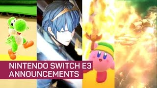 Nintendo just announced a ton of new Switch games