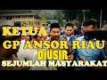 "Detik-Detik Ketua GP Anshor Riau Purwaji ""Diusir"" dari Gedung LAM Riau oleh Sejumlah Masyarakat"