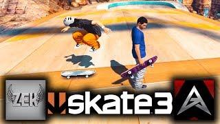 Skate 3 - ZexyZek VS. X7 Albert