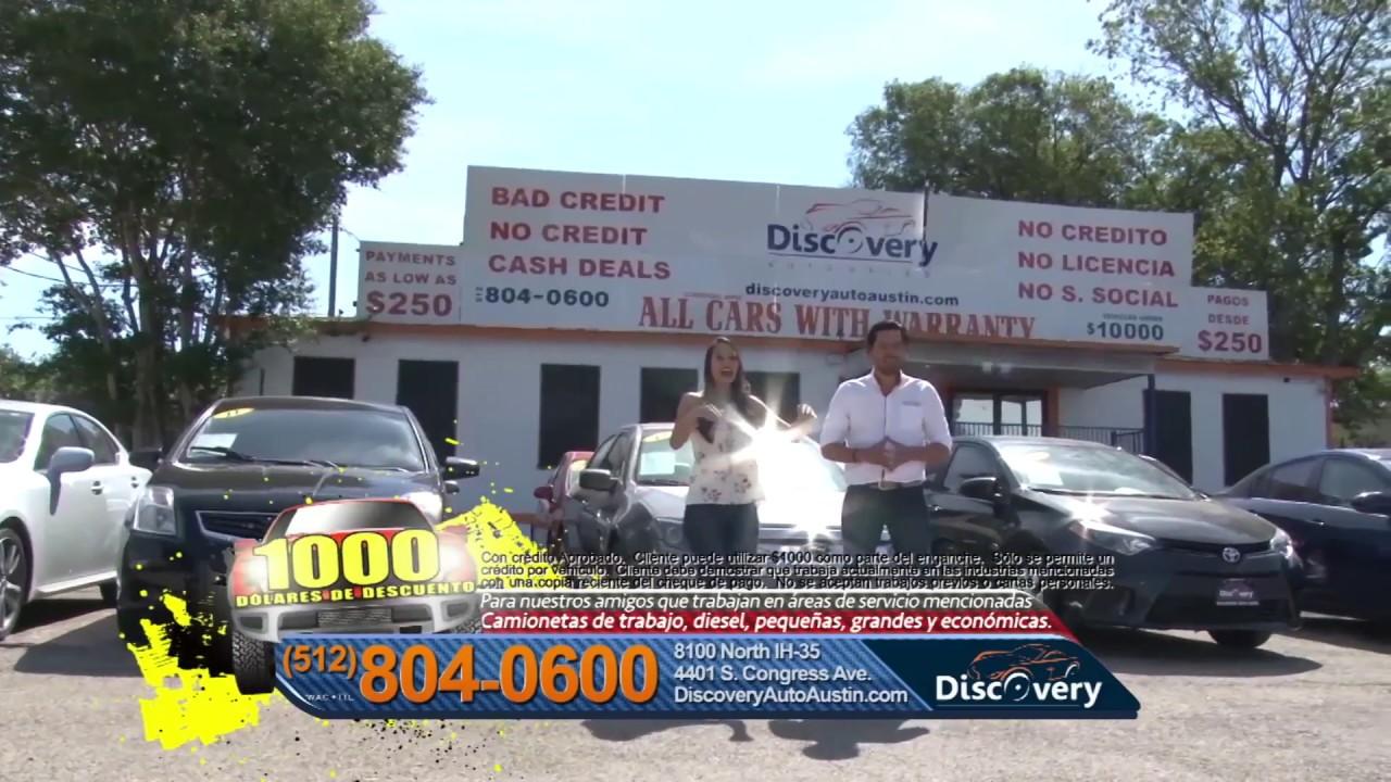 Discovery Auto Sales >> 1000 De Descuento Discovery Auto Sales