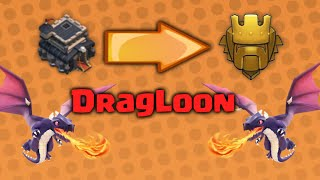 Clash of Clans - DragLoon Attack Strategy | TH9 to Titan League Trophy Push
