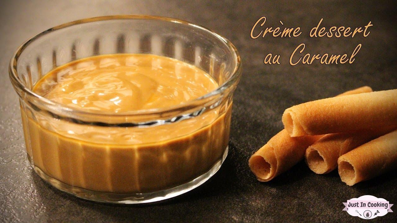 Recette De Crème Dessert Au Caramel Façon Danette Youtube