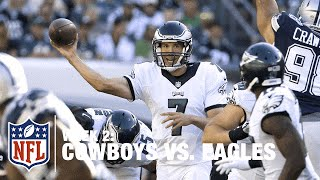 Sam Bradford Throws Red Zone Interception | Cowboys vs. Eagles | NFL