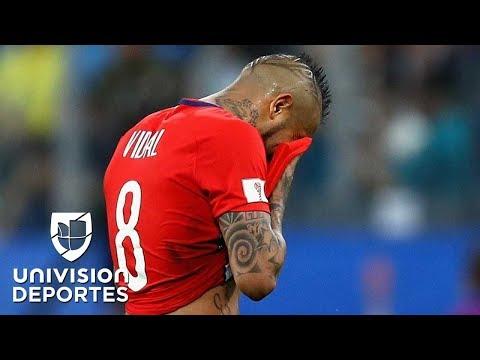 """La carta del adiós al Mundial de Rusia, """"con el alma destrozada"""", de Arturo Vidal"""