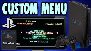 Customise Your PS2 Home Menu Using FreeMc Boot!