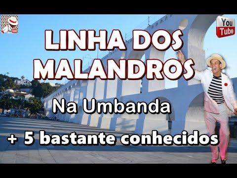 LINHA DOS MALANDROS + 5 BASTANTE CONHECIDOS