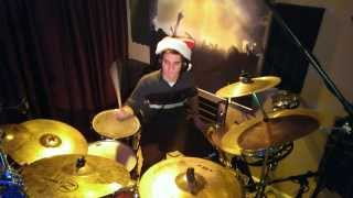 We Wish You A Merry Christmas- Relient K (Drum Cover)