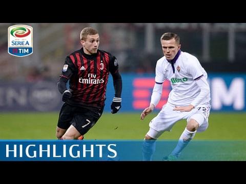 Milan - Fiorentina - 2-1 - Highlights - Giornata 25 - Serie A TIM 2016/17