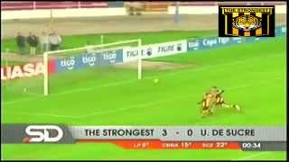 THE STRONGEST 3 vs U de Sucre 0, Relato Quique Rivera, Clausura 2014-2015