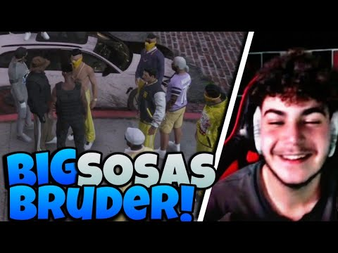 Download Big Sosa trifft seinen BRUDER | Big Sosa 2.0 ? | GTA RP Highlights