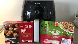 How long does it take to airfry store Crispy & Juicy Pork Belly bites - Philips AirFryer XXL