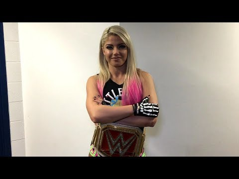 Alexa Bliss makes her prediction for the first-ever Women's Money in the Bank Ladder Match