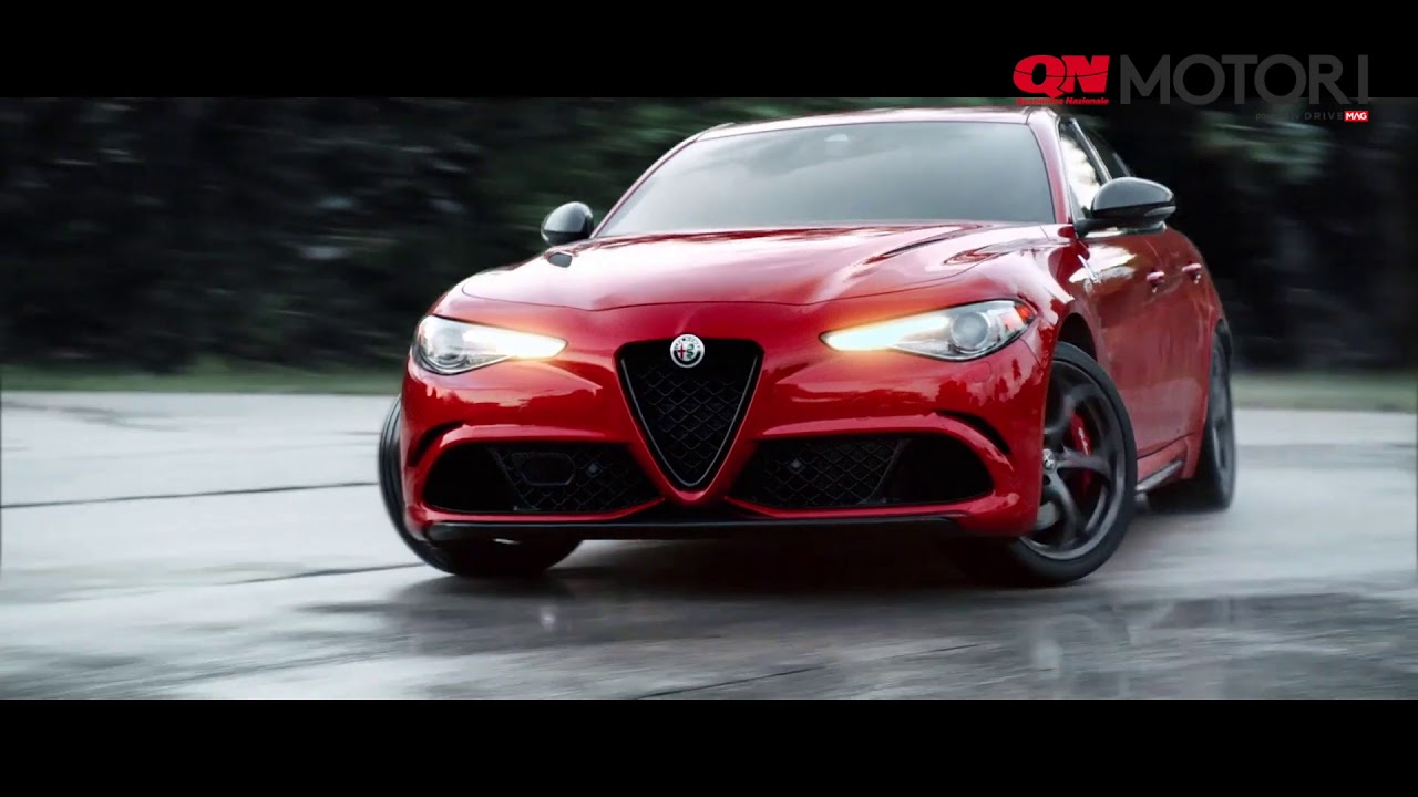 Alfa Romeo Stelvio E Giulia Quadrifoglio Con F1 C37 Youtube