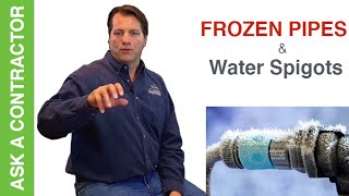 Should You Turn Off Water Spigots To Prevent Frozen Pipes- ASK A CONTRACTOR
