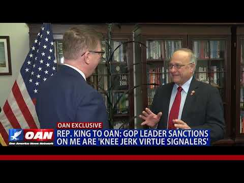 Rep. Steve King to OAN: GOP leader sanctions on me are 'knee jerk virtue signalers'