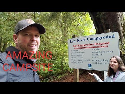 exploring-nomadic-fanatic's-favorite-campground-lyre-river-campground-washington-state