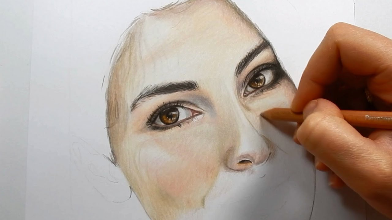 How to Color Skin with Colored Pencils - Inkovator