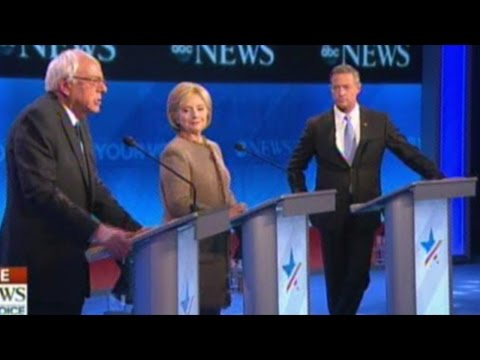 Democratic Presidential Debate In New Hampshire pt.1 Of 3