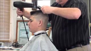 MILITARY FLATTOP HAIR CUT. thumbnail