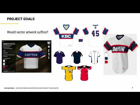 How SVGs Power Wilson Sporting Goods Product Configurator