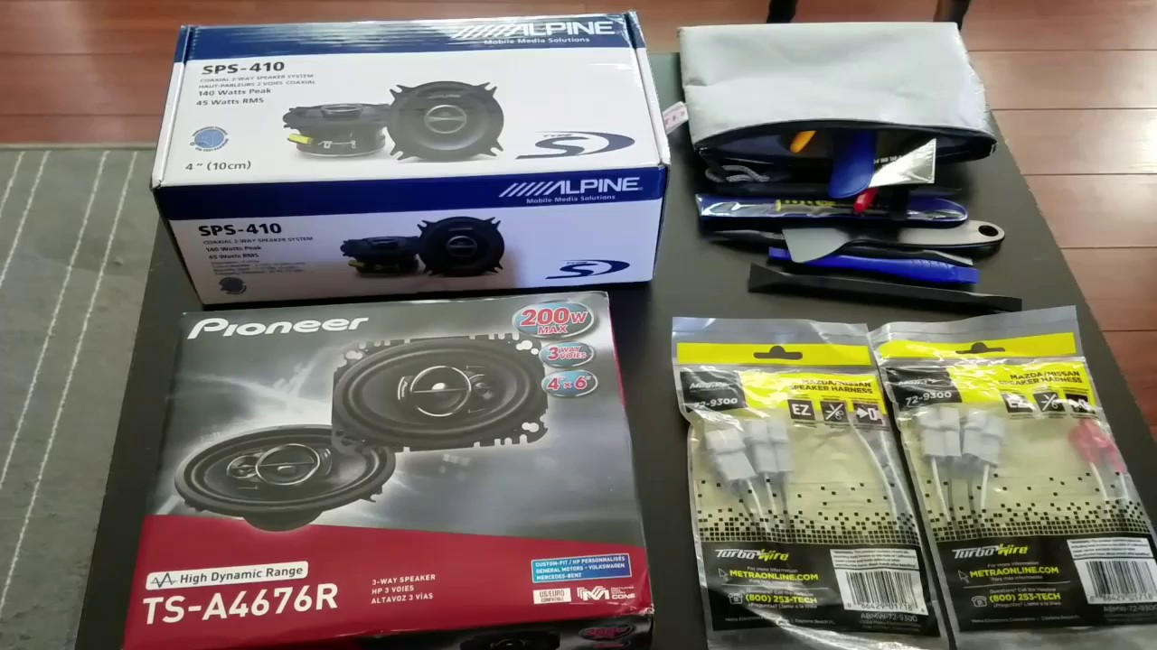install and review of chevy spark ev aftermarket speakers youtube. Black Bedroom Furniture Sets. Home Design Ideas
