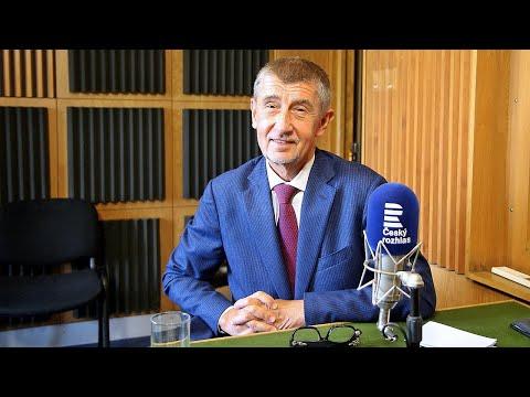 Premiér Andrej Babiš v pořadu Xaver a host ve vysílání rádia vašeho kraje