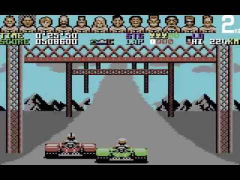 Power Drift Longplay (C64) [50 FPS]
