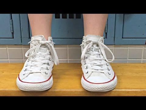 How to Clean White Converse Shoes at Home | DIY