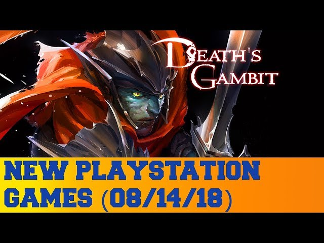 New PlayStation Games for August 14th 2018
