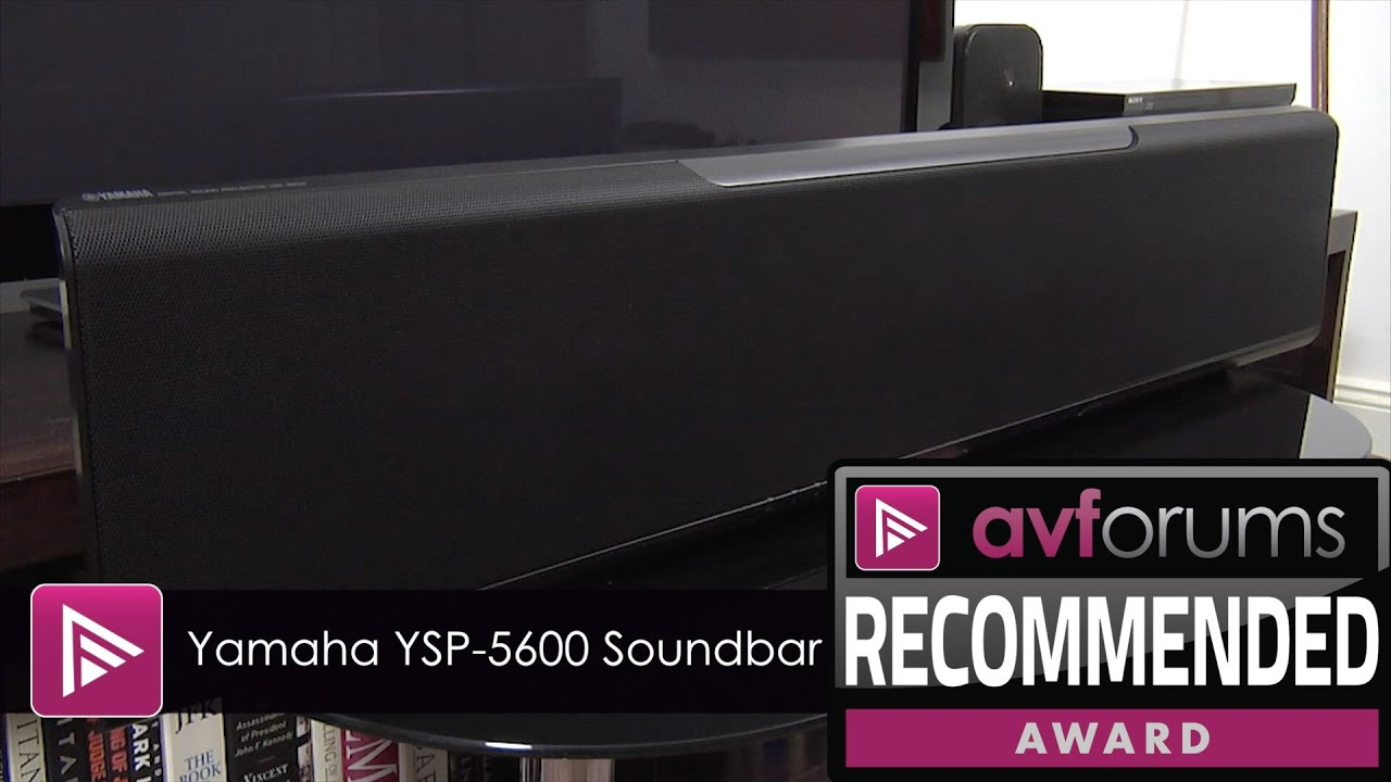 yamaha ysp 5600 dolby atmos soundbar review youtube. Black Bedroom Furniture Sets. Home Design Ideas
