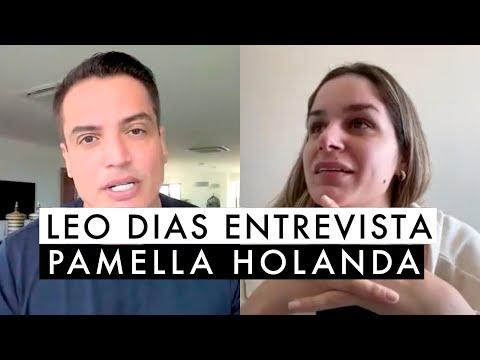 Video de Leo Dias que entrevista Pamella Holanda - DJ Ivis - 2021